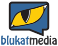 Blukat Media Mobile Logo